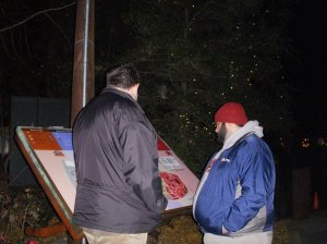 Josh and Jordan perusing the map of the zoo