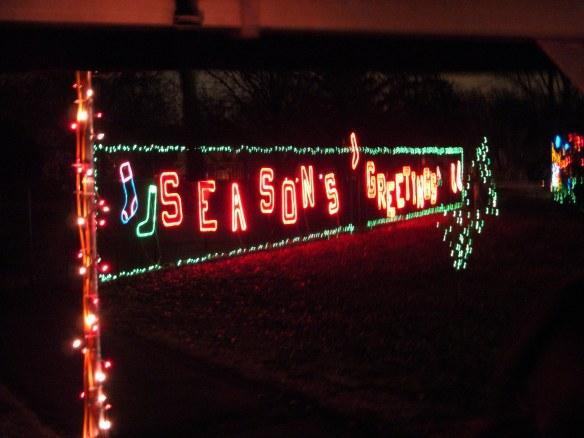Tilles Park Christmas Lights.Christmas Lights No Meat No Meal