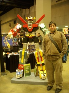 Josh with Voltron